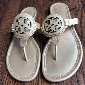 Tory Miller fringe sandal size 8